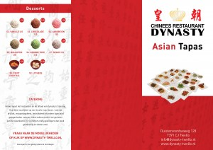 Dynasty Asian Tapaskaart 2017 DIGI